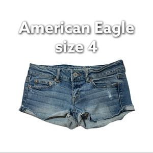 American Eagle | Stretch Shorts Distressed Size 4